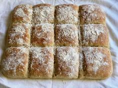 Peltileipä Baking Recipes, Snack Recipes, Savory Pastry, Bread Bun, Salty Snacks, Bakery Cakes, Easy Cooking, No Bake Desserts, Bread Baking