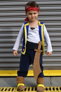 Jake and the Neverland Pirates! 25 DIY Halloween Costumes for Kids You Can Actually Make