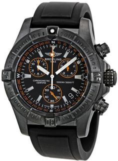 Special Offers Available Click Image Above: Breitling Avenger Seawolf Chronograph Black Ion-plated Mens Watch Breitling Navitimer, Breitling Watches, Bulova, Casual Watches, Cool Watches, Watches For Men, Men's Watches, Breitling Bentley, Most Popular Watches