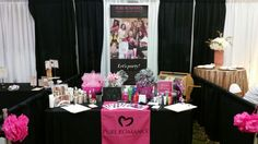 My booth @ The Mid South Bridal Show in July 2016