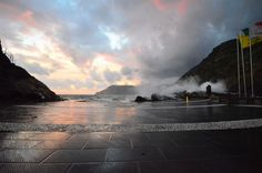 sea storm in Vernazza - Oct 10th