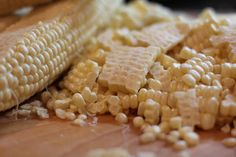 Foodilicious: Coconut Creamed Corn - From Jenny of Vintage Sugarcube