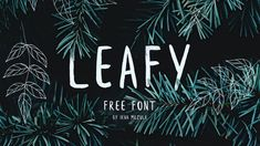 20 top free brush fonts