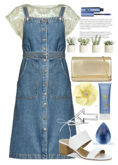 """151"" by erohina-d ❤ liked on Polyvore featuring beauty, M.i.h Jeans, Allstate Floral, Tahari, ALDO, Lazuli and Benefit"