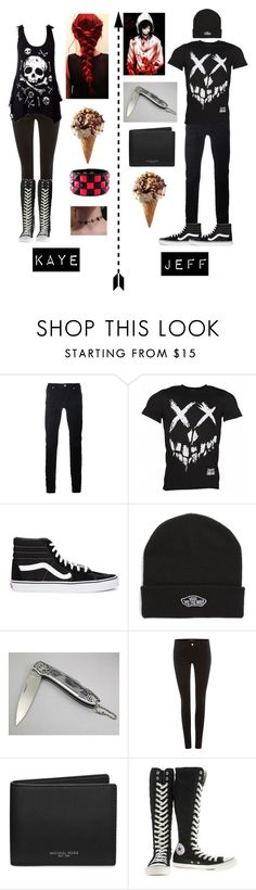 """""""Set Request For Kaye"""" by potatolover123 ❤ liked on Polyvore featuring interior, interiors, interior design, home, home decor, interior decorating, Diesel Black Gold, Vans, J Brand and Michael Kors"""