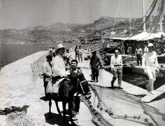 #Mykonos #port,1955.