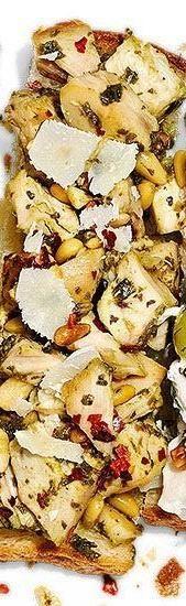 Presto Pesto Chicken Salad