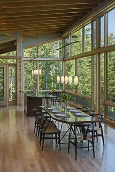 Modern Cabin Lighting Design, Pictures, Remodel, Decor and Ideas