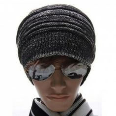 $6.79 High Quality Fashion Style Warming Stripe Knitting Wool Cap