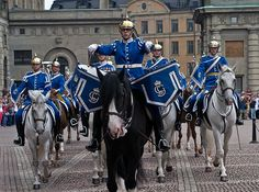 Changing of the Guard, Royal Palace, Stockholm, Sweden