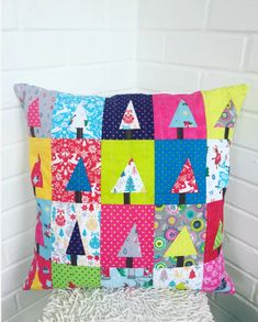 Christmas Patchwork Cushion | Sewing Blog | Manchester | Craft Cotton Co