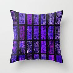 """""""komputer rock"""" Throw Pillow by Rachna Radar - $20.00"""