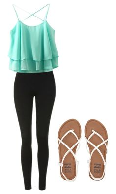 """""""Laid Back #6"""" by salmadivagirl on Polyvore featuring Topshop and Billabong"""