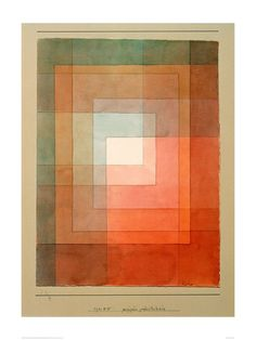 """Paul Klee Art Print - Framed Polyphonically (24""""x31"""") -- Awesome products selected by Anna Churchill"""