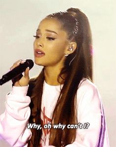 """DANGEROUS WOMAN — yourstrulys: Arian Grande performs """"Somewhere Over..."""