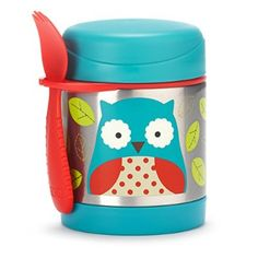 Skip Hop Zoo Insulated Food Jar, Owl 11oz $17 When Baby grows a little older and starts eating more