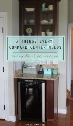 Set up the ideal command center with these simple tips!
