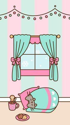 Wallpaper Tumblr Lockscreen, Cats Wallpaper, Winter Wallpaper, Kawaii Wallpaper, Wallpaper Iphone Cute, Christmas Wallpaper, Wallpaper Wallpapers, Wallpaper Samsung, Wallpapers Android
