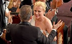 After previously taking home a Golden Globe and a SAG Award—among other statues—for Boyhood, Patricia Arquette has continued her winning streak with an Oscar win for Best Supporting Actress for her work in Richard Linklater's 12-year tale. #Oscars