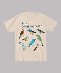 Take a look at this Vegas Gold 'Mini Ornithologist' Tee - Toddler & Kids by Mokuyobi Threads on #zulily today!