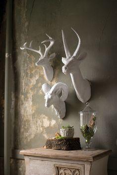 Resin Deer Head