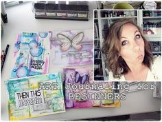 Marta Lapkowska: Art Journaling / Mixed Media For Beginners - VIDEO TUTORIALS
