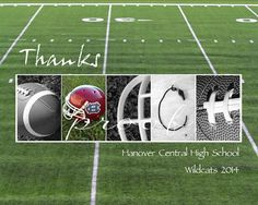 Coach thank you print ready for framing.  Send me a photo of your team's helmet, and I will incorporate it into your print.