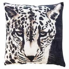 Characteristic black and linen coloured 100 cotton cushion with a Leopard design The cushion measures cm The unique design provides space for Glass Votive, Candle Jars, Rose Gold Vase, Handmade Lanterns, Fluffy Cushions, Light Gold Color, Ceramic Flower Pots, How To Make Lanterns, Bamboo Furniture