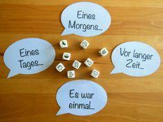 Sprachförderung: Geschichten würfeln – Teacher's Life