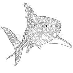 malvorlage haifisch kostenlos 1   haifische   haifisch