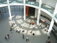 Neue Pinakothek der Moderne in Munich--coolest design & architecture museum I've seen.