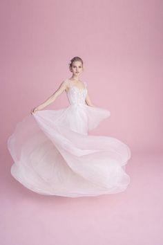 dad35bcfcab4b 20 Totally Unique Fashion Forward Wedding Dresses | Armaweb07.com Blush By Hayley  Paige,
