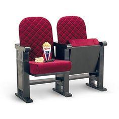 Velvet Theater Seats - American Girl doll Molly