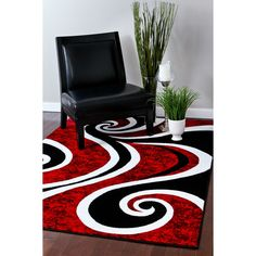 Shop for Persian Rugs Modern Trendz Collection Red/ Black Rug x - x Get free delivery On EVERYTHING* Overstock - Your Online Home Decor Store! Get in rewards with Club O! Room Rugs, Rugs, Red Rooms, Rugs In Living Room, Area Rugs Cheap, Home Decor, Modern Rugs, Contemporary Rugs, Living Room Red