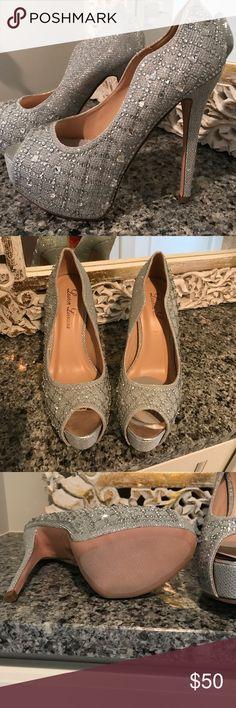 Brand new Lauren Lorraine heels Brand new. 5 1/2 inch heel. 1.25 inch platform.  No box Lauren Lorraine Shoes Heels