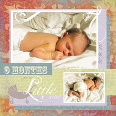 See Jane Scrapbook: New Karen Foster Design Kit - Maternity
