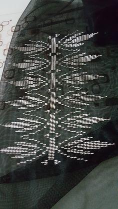 Weaving Patterns, Filet Crochet, Blackwork, Needlework, Diy And Crafts, Street Art, Cross Stitch, Embroidery, Eminem