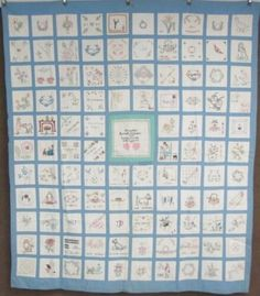 c 1938 Presentation Pictorial QUILT Vintage 109 Small Scale Blocks Quilts Vintage, Antique Quilts, Parts Of The Heart, The Originals Show, New York Beauty, Signature Quilts, Embroidered Quilts, Lancaster County, Selling On Ebay