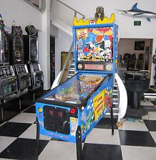 ROCKY AND BULLWINKLE PINBALL MACHINE ~ SHOPPED & ON SALE NOW ~ $199 SHIPPING