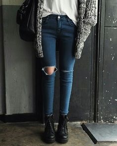LoLus Fashion: Casual Outfit Featuring Favorite Skinny Jeans & Bo...