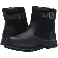 Caterpillar Jace Steel Toe (Black) Women's Work Boots (1 120 SEK) ❤ liked on Polyvore featuring shoes, boots, mid-calf boots, black mid calf boots, side zip work boots, safety toe work boots, breathable work boots and black boots