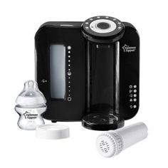 Tommee Tippee Closer to Nature Perfect Prep Bottle Maker in Black
