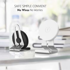 A newest Mobile phone accessories wireless phone charger with stand holder