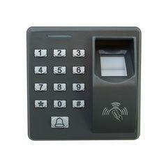 Sistemas de control de la puerta de entrada de proximidad bloqueo de m-f100 huella digital RFID