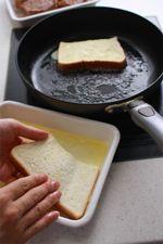 息子が、キャンプで食べたもので、おいしかったから作ってほしいものがある、と言ってきました。「朝ごはんにでたんだけど、黄色っぽくてふわふわしてて、パンみたい...