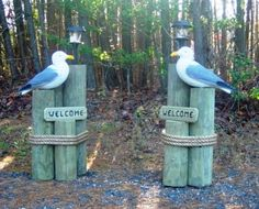 """DRIVEWAY NAUTICAL DECORATIONS 
