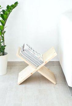die besten 25 zeitungsst nder holz ideen auf pinterest zeitschriftenst nder b cherhalter und. Black Bedroom Furniture Sets. Home Design Ideas