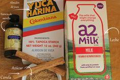 Avena Cubana Ingredientes Vitamin D, Gluten Free Desserts, Alcohol Free, Empanadas, Salsa, Vanilla, Milk, Pure Products, Drinks