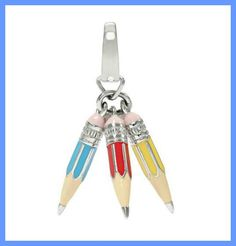 Pencil Cluster Charm ($28)