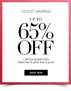 Shop our outlet savings and save up to 65% OFF!  Shop online now at https://hbonang.avonrepresentative.com  #outlet #shopping #savings #beauty #fashion #jewerly #bathandbody #onlineshopping #avon #avondeals